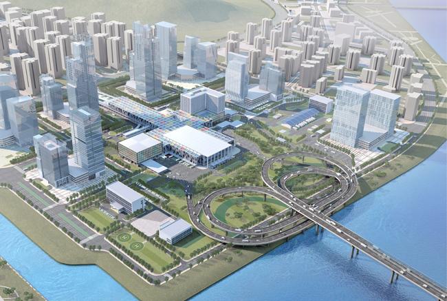 横琴口岸及综合交通枢纽项目