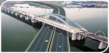 桥梁建设步骤
